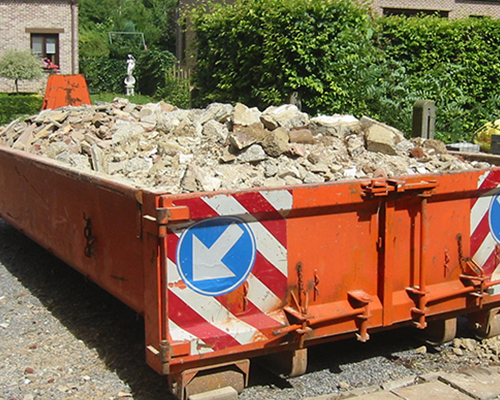 afvalcontainer huren 1